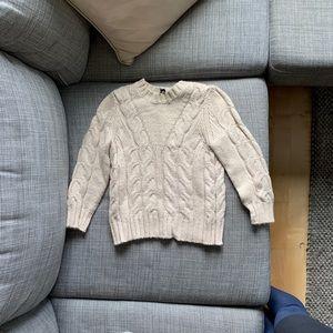 Alpaca 3/4 sweater XS petite